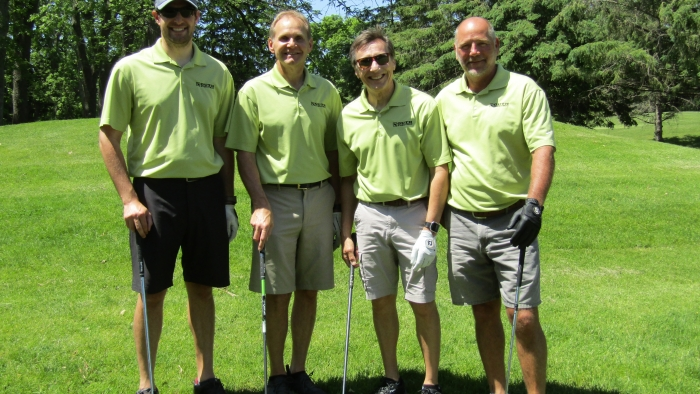 Golf Classic 2019 Group On The Tee