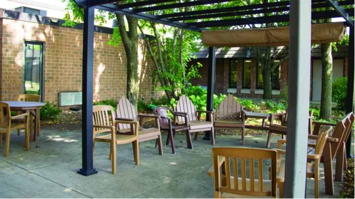 Northfield Manor Patio