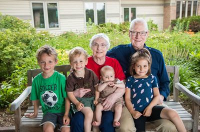Children With Foster Grandparents