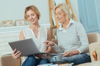 Mother Daughter Discuss Finances