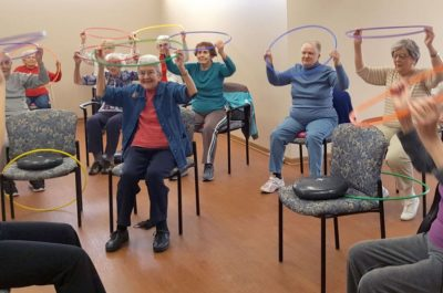 Residents In Fitness Class