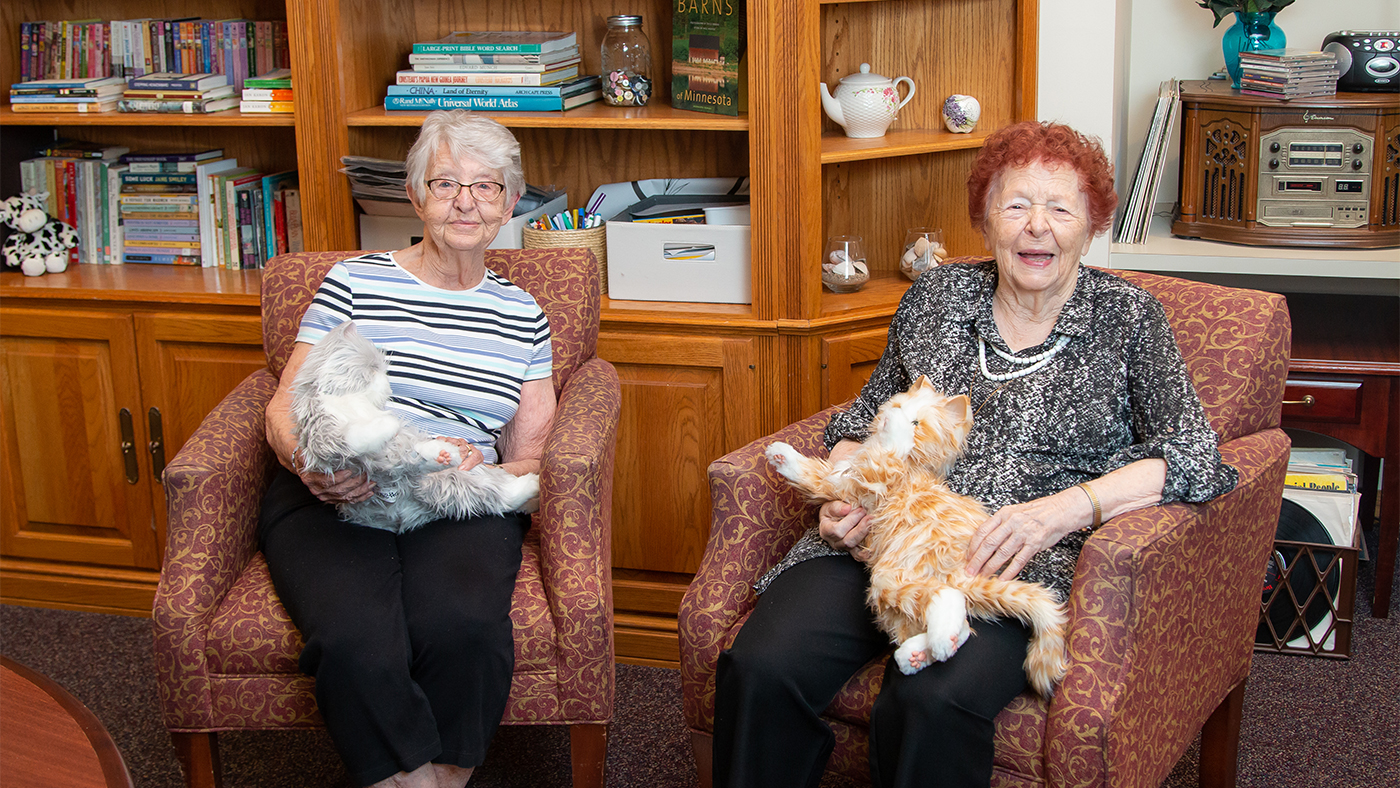 Residents With Kitties
